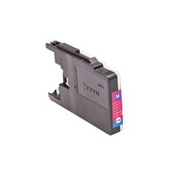 compatible inkt cartridge voor Brother LC 1220 1240 1280 magenta van Huismerk