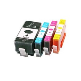 compatible Set 4x inkt cartridge voor HP 934XL 935XL van Huismerk