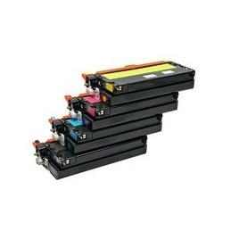compatible Set 4x Toner voor Xerox Phaser 6180 van Huismerk