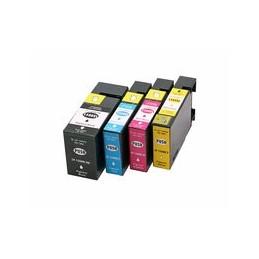compatible Set 4x inkt cartridge voor Canon PGI-1500XL van Huismerk