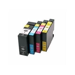 compatible Set 4x inkt cartridge voor Canon PGI-2500XL KCMY van Huismerk