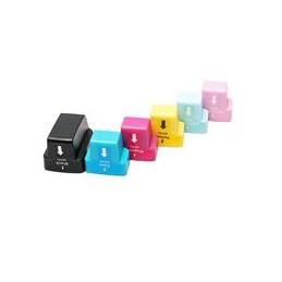 compatible Set 6x inkt cartridge voor HP 363 van Huismerk