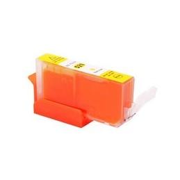 compatible inkt cartridge voor Canon CLI 521 geel van Huismerk