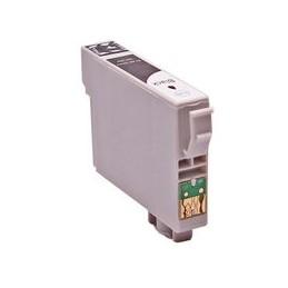 compatible inkt cartridge voor Epson T0801 zwart van Huismerk