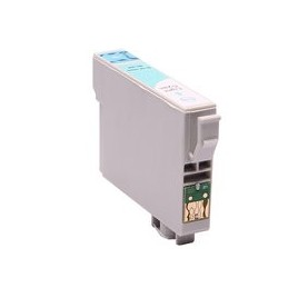 compatible inkt cartridge voor Epson T0805 light cyan van Huismerk