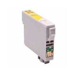 compatible inkt cartridge voor Epson T0554 geel van Huismerk