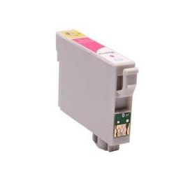 compatible inkt cartridge voor Epson T0613 magenta van Huismerk