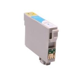 compatible inkt cartridge voor Epson T0482 cyan van Huismerk