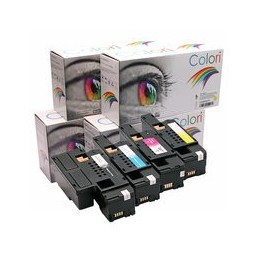 compatible Set 4x Toner voor Dell 1250 1350 1355 van Colori Premium