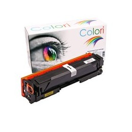 compatible Toner voor HP 201X CF402X geel M252 M277 van Colori Premium