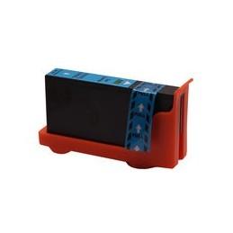 compatible inkt cartridge voor Lexmark 100Xl cyan van Huismerk