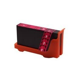 compatible inkt cartridge voor Lexmark 100Xl magenta van Huismerk