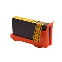 compatible inkt cartridge voor Lexmark 100Xl geel van Huismerk
