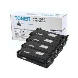 compatible Set 4x Toner voor Dell 3130Cn van Huismerk