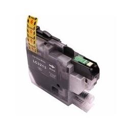 compatible inkt cartridge voor Brother LC3213 zwart van Huismerk