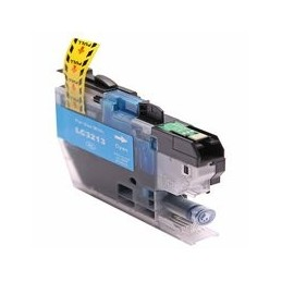 compatible inkt cartridge voor Brother LC3213 cyan van Huismerk