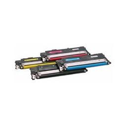 compatible Set 4x Toner voor Samsung P4092C CLP310 CLX3175 van Huismerk