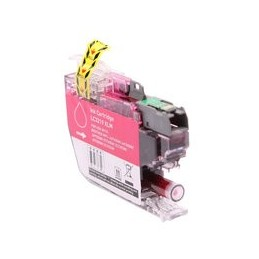 compatible inkt cartridge voor Brother LC3219XL magenta van Huismerk