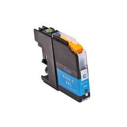 compatible inkt cartridge voor Brother LC22U C cyan DCP-J785W MFC-J985DW van Huismerk