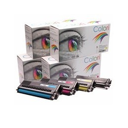 compatible Set 4x Toner voor Brother TN423 van Colori Premium