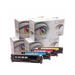 compatible Set 4x Toner voor HP 312A 312X Laserjet Pro 400 M476 van Colori Premium