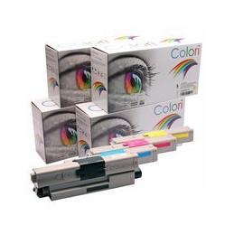compatible Set 4x Toner voor Oki C301 C321 van Colori Premium