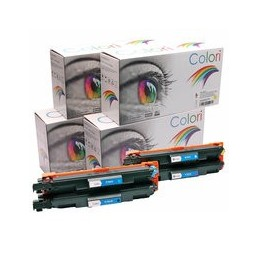 compatible Set 4x Toner voor Brother TN247 TN-247CMYK van Colori Premium