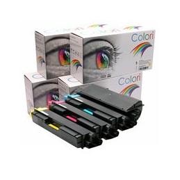 compatible Set 4x Toner voor Kyocera TK590 FS-C2016MFP van Colori Premium