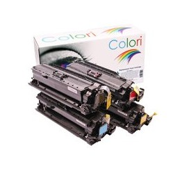 compatible Set 4x Toner voor Canon 732 732H van Colori Premium