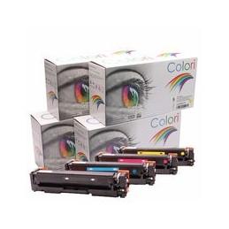 compatible Set 4x Toner voor HP 201X M252 M277 van Colori Premium
