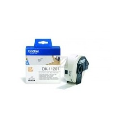 Origineel Brother P-Touch DK-11201 die-cut standaard address label 29x90mm 400 labels