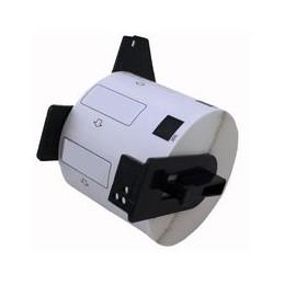 compatible labels voor Brother Dk22214 wit 12Mm X 30Mm van Huismerk