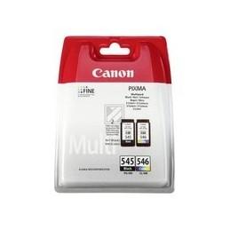 Origineel Canon PG-545 - CL-546 inkt zwart en kleur standaard capaciteit zwart 180 SS kleur: 180SS
