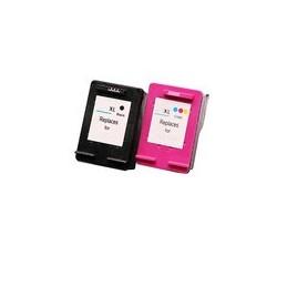 compatible Set 2x inkt cartridge voor HP 301XL van Huismerk