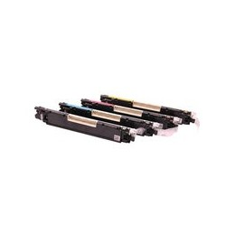 compatible Set 4x Toner voor HP 126A Color Laserjet Cp1025 van Huismerk