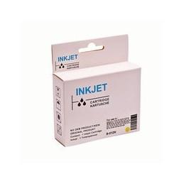compatible inkt cartridge voor Brother LC 121 123 geel van Huismerk
