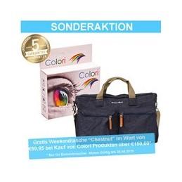 compatible inkt cartridge voor Brother LC 980 985 1100 cyan van Colori Premium