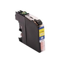compatible inkt cartridge voor Brother LC 125xl geel van Huismerk