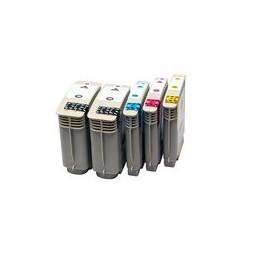 compatible Set 5x inkt cartridge voor HP 940XL van Huismerk