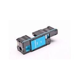 compatible Toner voor Dell E525 E525w cyan 1400 paginas van Huismerk