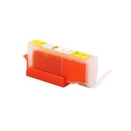 compatible inkt cartridge voor Canon CLI571XL geel van Huismerk