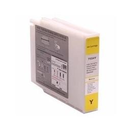 compatible inkt cartridge voor Epson T7554 geel 4000 paginas van Huismerk
