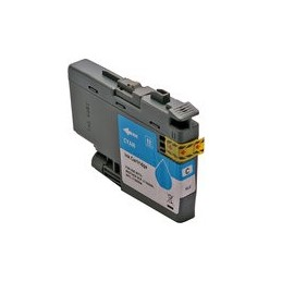compatible inkt cartridge voor Brother LC3235XL cyan van Huismerk