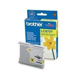 Origineel Brother LC-970 inkt geel standaard capaciteit 300 paginas 1 stuk