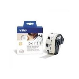 Origineel Brother P-Touch DK-11218 die-cut roen label 24x24mm 1000 labels
