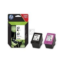 Origineel HP 62 inkten Combo 2 stuk (zwart-tri-color)