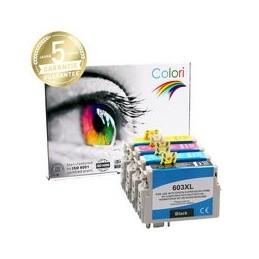 compatible Set 4x Premium inkt cartridge voor Epson 603XL van Colori