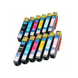 compatible Set 12x inkt cartridge voor Epson 24xL van Huismerk