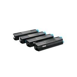 compatible Set 4x Toner voor Oki C3100 C3200 C5100 C5200 van Huismerk
