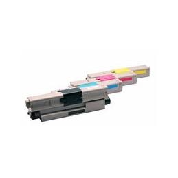 compatible Set 4x Toner voor Oki C301 C321 van Huismerk